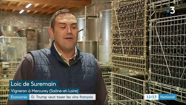 Donald Trump menace de taxer les vins français, les viticulteurs s'inquiètent