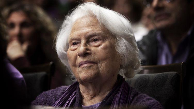 Lia Van Leer en 2011.  (MENAHEM KAHANA / AFP)