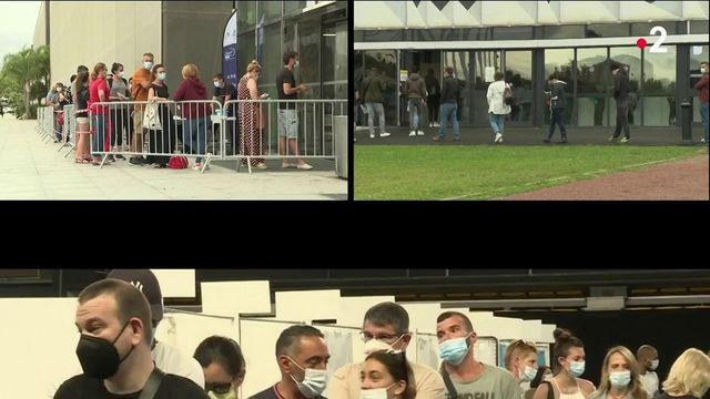 Vaccination anti Covid-19 : les centres soudainement pris d'assaut