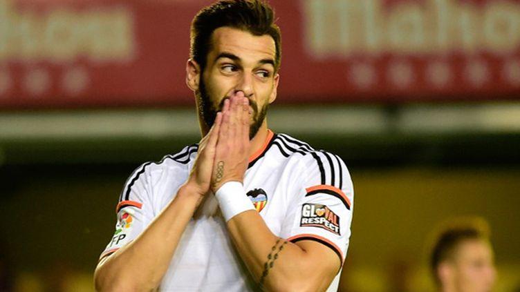Alvaro Negredo (FC Valence) (JOSE JORDAN / AFP)