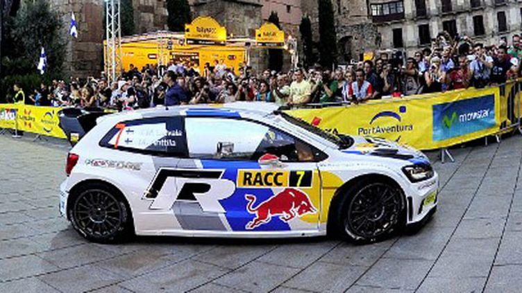 Jari Latvala au rallye de Catalogne