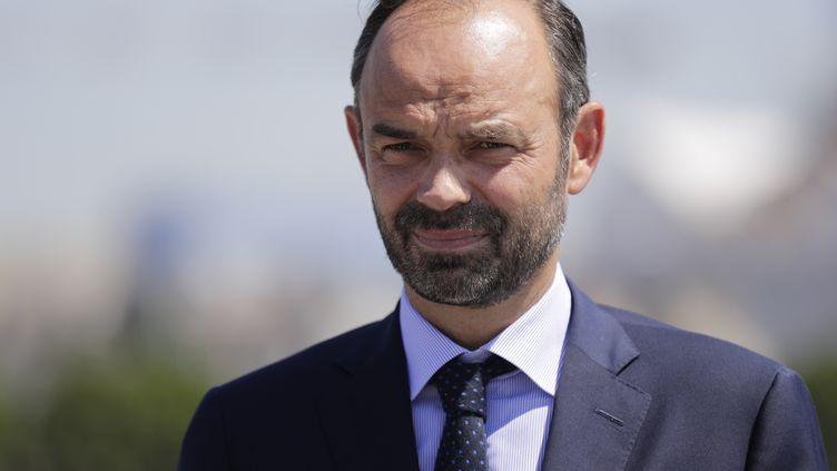 Le Premier ministre Edouard Philippe lors d'une conférence de presse à la Monnaie de Paris, le 7 juillet 2017. (THOMAS SAMSON / AFP)