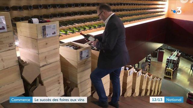 Commerce : les foires aux vins sont toujours un succès