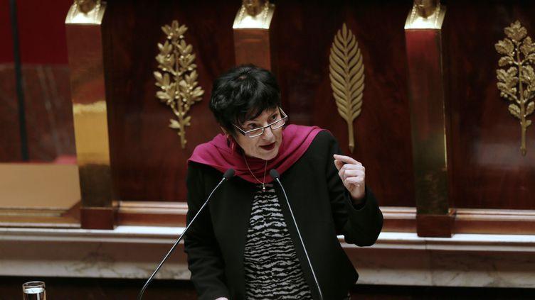 Dominique Bertinotti,la ministre déléguée à la Famille, le 29 janvier 2013. (JACQUES DEMARTHON / AFP)
