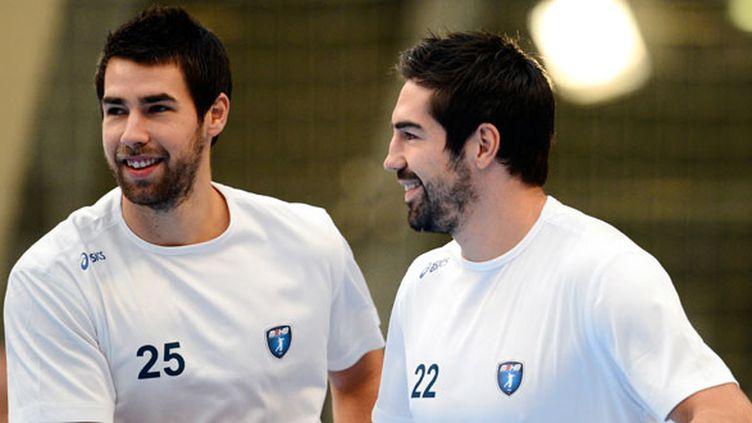Luka et Nikola Karabatic à l'époque sous le maillot de Montpellier