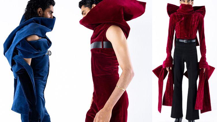 Arturo Obegero automne-hiver 2021-22, à la Paris Fashion Week, janvier 2021 (Arturo Obegero)