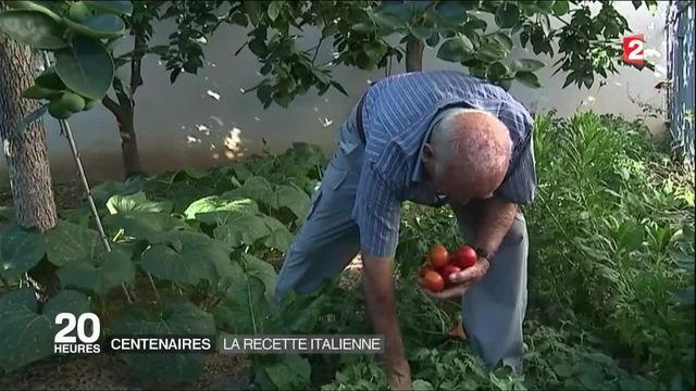 Centenaires : la recette italienne