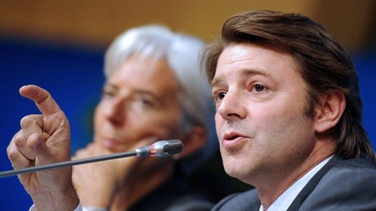 Le ministre du Budget, François Baroin le 29/09/10 (AFP Lionel Bonaventure)