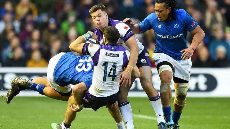 L'Ecosse a imposé sa puissance face à des Samoans joueurs