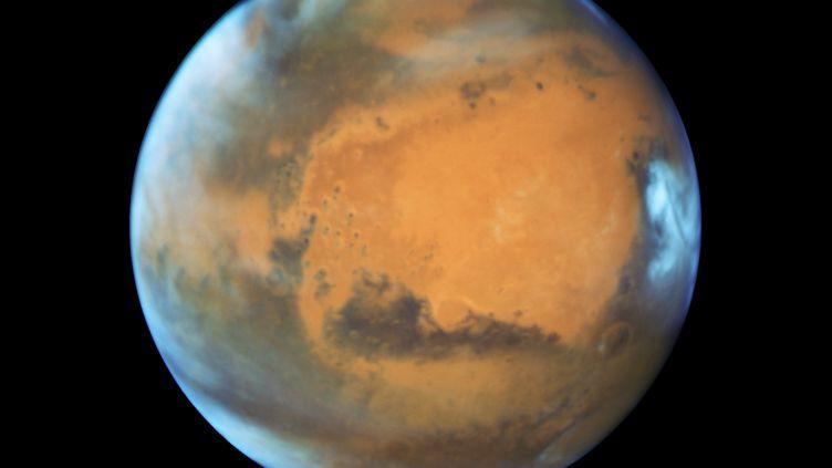 Une photo de la planète Mars, capturée par le télescope Hubble de la Nasa le 12 mai 2016. (NASA / REUTERS)