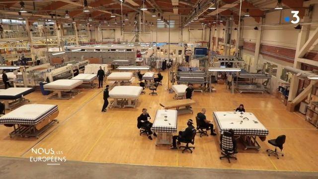 """VIDEO. """"Les gens ont découvert à quel point le sommeil est important pour le système immunitaire"""" : le patron heureux d'une entreprise suédoise de lits haut de gamme"""