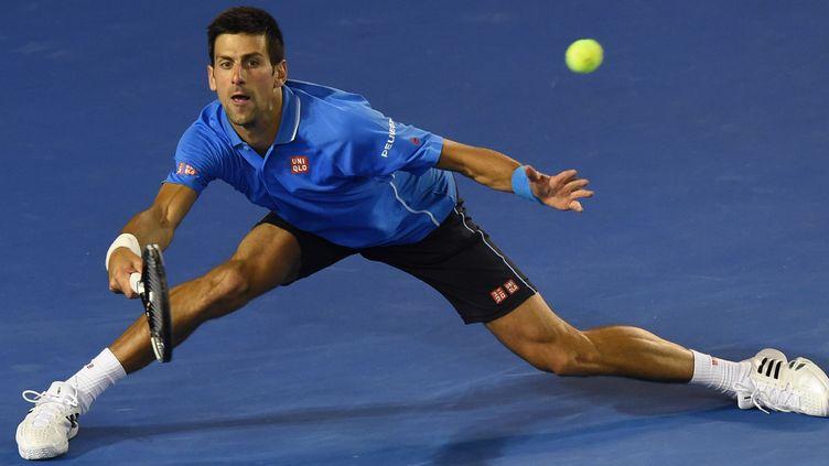Novak Djokovic retrouvera Milos Raonic au prochain tour (MAL FAIRCLOUGH / AFP)