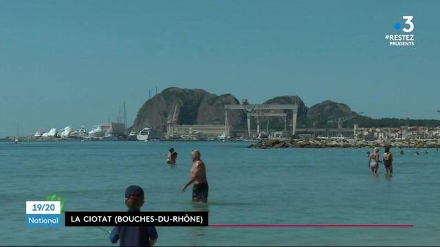 Bouches-du-Rhône : le retour des baigneurs à La Ciotat
