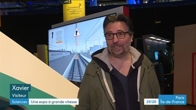 """Expo """"Grande vitesse ferroviaire"""" à la Cité des sciences"""