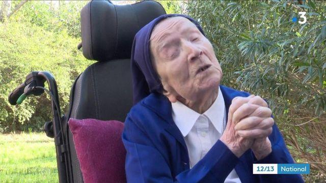 Sœur André, doyenne des Français et des Européens, fête ses 117 ans