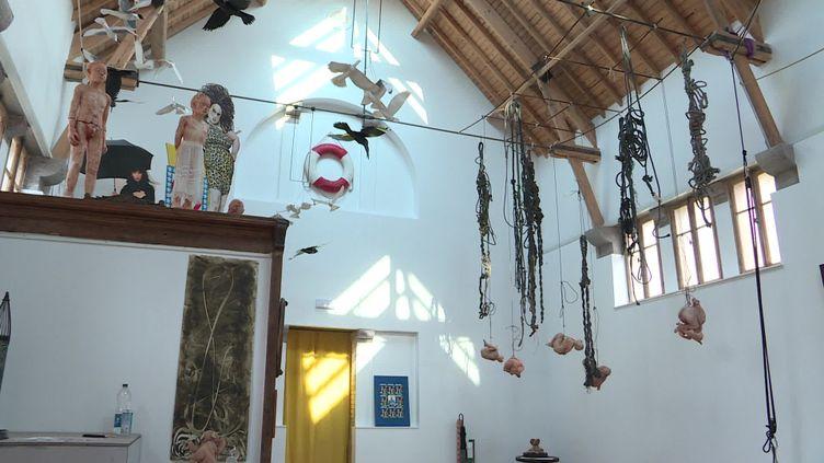 L'ouverture de la galerie est le fruit d'un travail de 3 ans. (France 3)