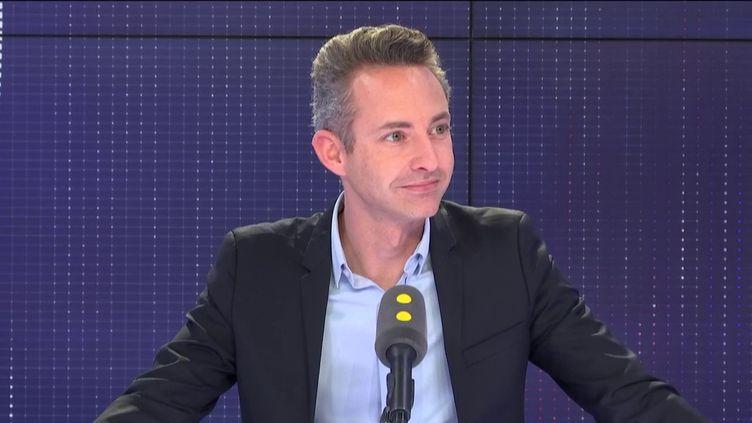 Ian Brossat, invité de franceinfo le 23 avril 2019. (FRANCEINFO / RADIOFRANCE)