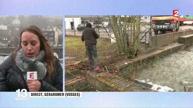 Inondations : il est tombé jusqu'à 16 litres par mètre carré dans le Grand Est
