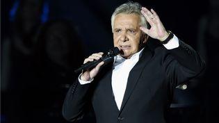 Michel Sardou, le 12 décembre 2012 lors d'un concert au Palais omnisport de Bercy, à Paris. (PIERRE VERDY / AFP)