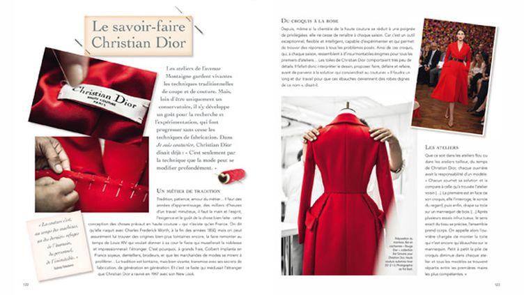 """Page extraite du livre """"Dior for ever""""  (Pol Baril. © Frédérique et Ludwig Bonnet / Java Fashion)"""