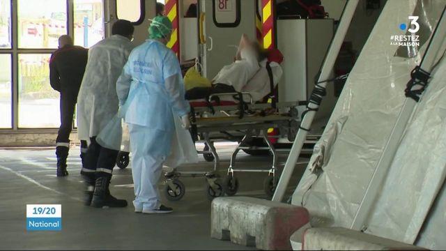 Coronavirus: six malades de l'est transférés à Bordeaux