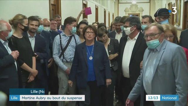 Municipales : Martine Aubry, réélue au bout du suspense