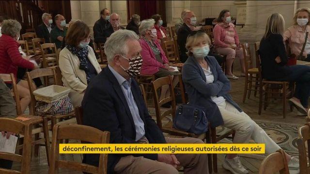 Déconfinement : la messe a pu avoir lieu à Neuilly-sur-Seine