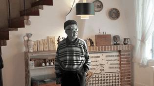 Foujita dans sa maison àVilliers-le-Bâcle (Essonne)  (France 3 / Culturebox )