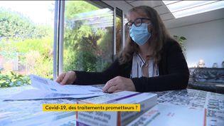 Anne Hinaux, greffée et immunodéprimée (FRANCEINFO)
