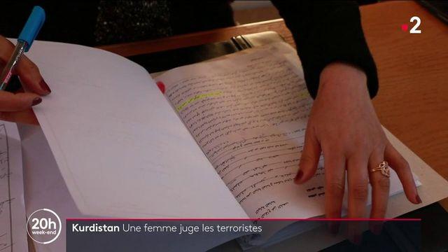Kurdistan : une femme juge les terroristes