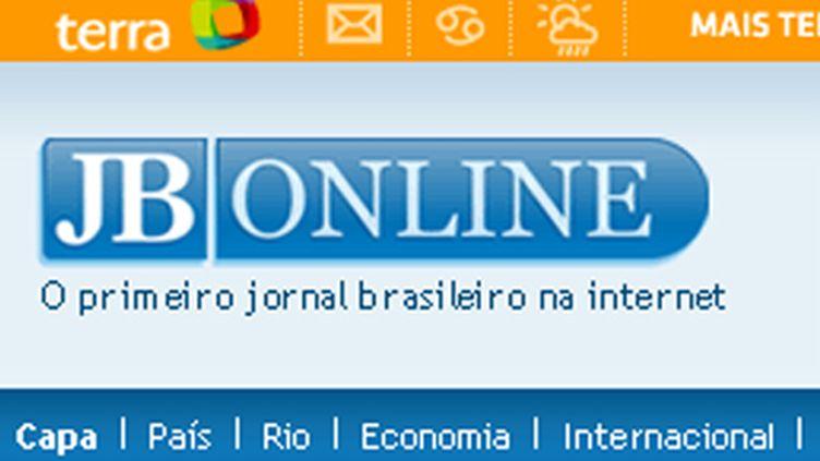 (Capture d'écran du site Jornal do Brasil)