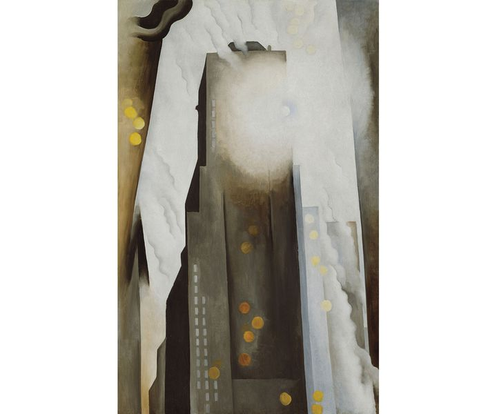 """Georgia O'Keeffe, """"The Shelton with Sunspots"""", N.Y., 1926, The Art Institute of Chicago IL, USA (© Art Institute of Chicago / Gift of Leigh B. Block / Bridgeman Images © Georgia O'Keeffe Museum / Adagp, Paris, 2021)"""
