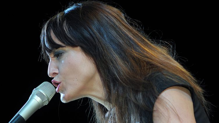 (La chanteuse Keren Ann accompagnera Manuel Valls en voyage officiel en Israël ce week-end  © MaxPPP)