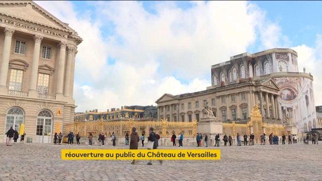 Le chateau de Versailles rouvre