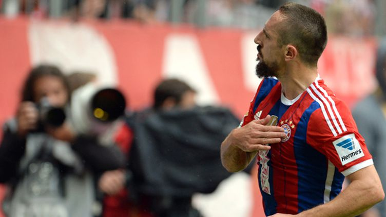 Satisfaction pour Franck Ribéry avec le Bayern (ANDREAS GEBERT / DPA)