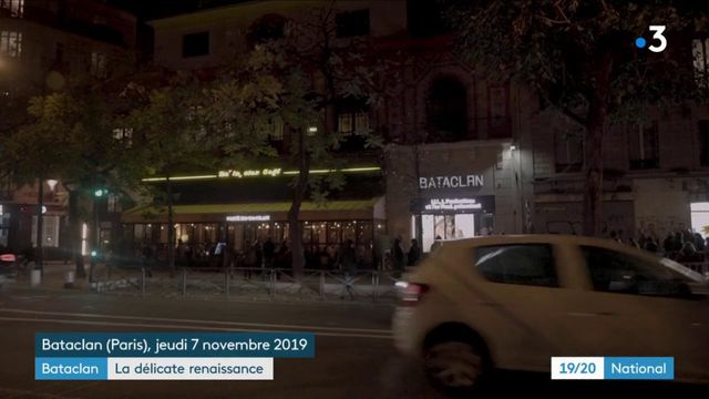 Bataclan : une délicate renaissance quatre ans après les attentats
