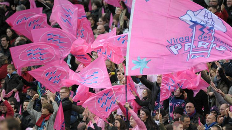 Les supporteurs du Stade Français