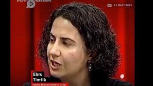 Ebru Timtik. (FRANCEINFO)