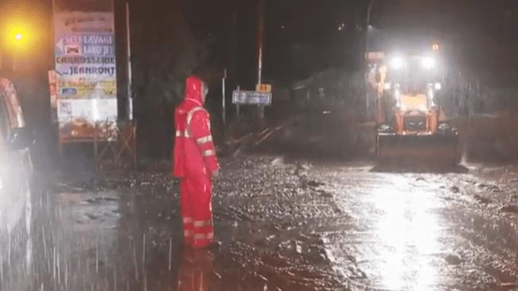 Intempéries dans le Var, en alerte pluie-inondations, le 11 octobre 2018. (FRANCE 2)