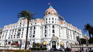 Le Negresco, à Nice, le 28 avril 2011. (VALERY HACHE / AFP)