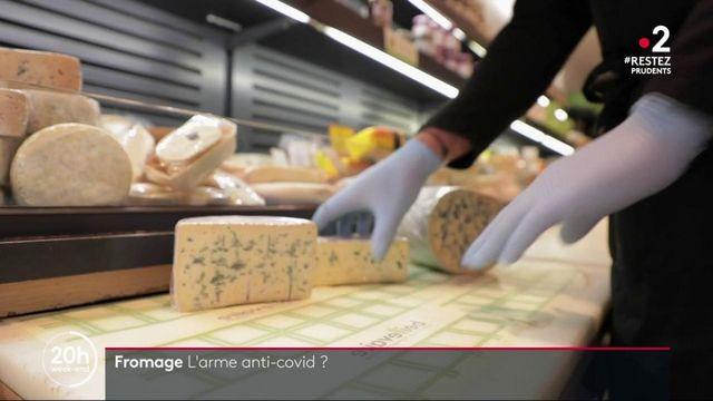 Manger du fromage aurait des effets protecteurs contre le coronavirus