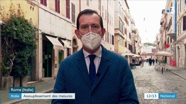 Italie : allégement des mesures sanitaires