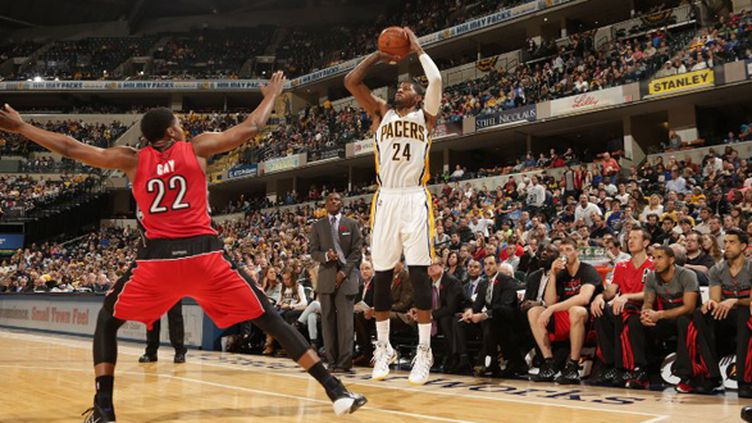 Paul George (Indiana Pacers) (RON HOSKINS / NBAE / GETTY IMAGES)