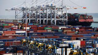 Le port du Havre (CHARLY TRIBALLEAU / AFP)