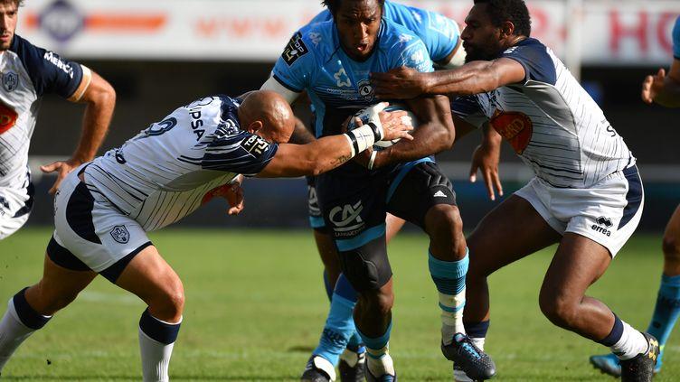 TOP 14 : Agen - Montpellier.  (PASCAL GUYOT / AFP)