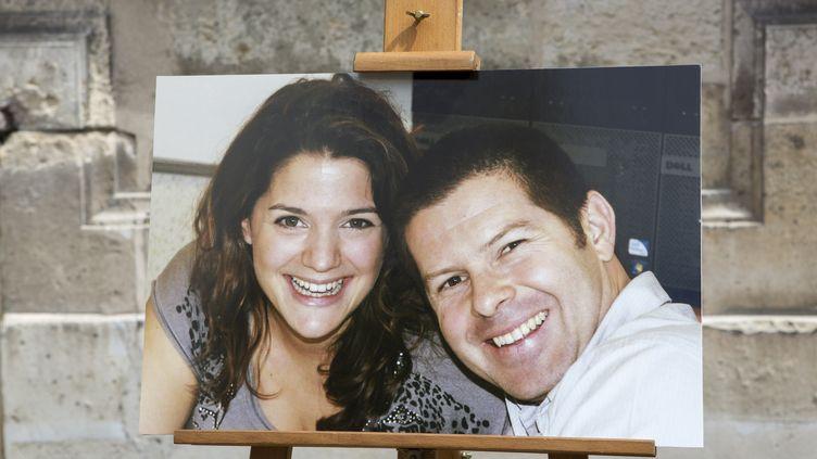 Jessica Schneider et Jean-Baptiste Salvaing. (KAMIL ZIHNIOGLU / POOL)