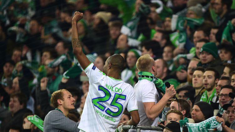 Wolfsburg accueille le Real pour le match aller des quarts de finale de la Ligue des champions, avec l'envie de créer la surprise. (JOHN MACDOUGALL / AFP)
