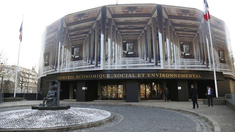 Le Conseil Économique et Social à Paris. (THOMAS SAMSON / AFP)