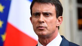 Le Premier ministre Manuel Valls, le 30 juin 2016, à Matignon. (BERTRAND GUAY / AFP)
