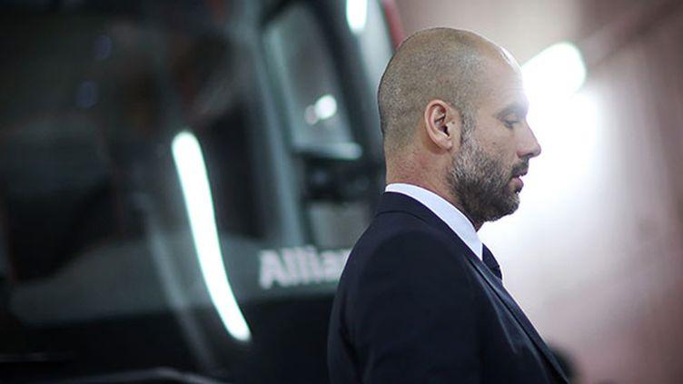 Pep Guardiola, aujourd'hui au Bayern (FREDRIK VON ERICHSEN / DPA)